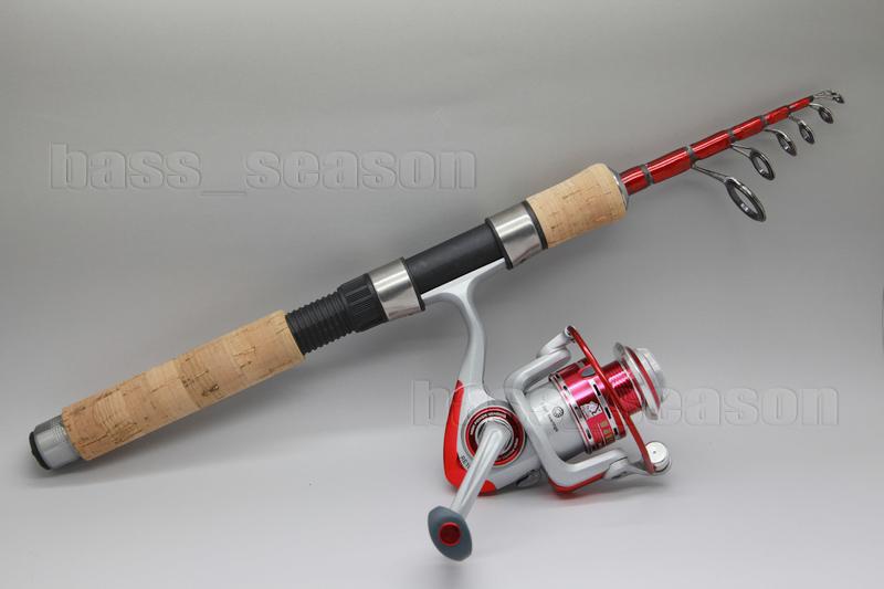 Protable 160 CM 5.25FT Telescope Fishing Rod Ice Fish Spinning Fishing Rod Pole(China (Mainland))