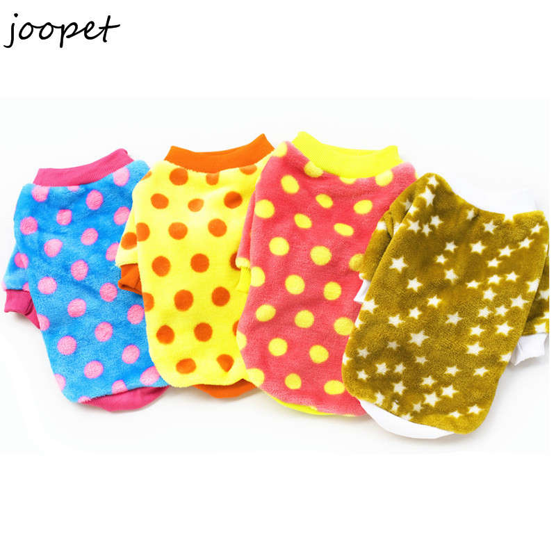 Free shipping 10 pieces dog clothes 2016 cheap dog clothes cat coat for dogs winter fleece dog clothing for puppy chihuahua(China (Mainland))
