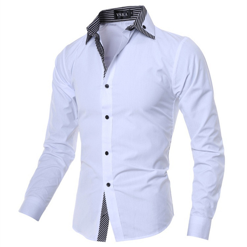 2013 new fashion men s polo shirt turn down short sleeve for Mens high collar dress shirts
