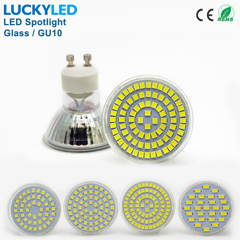 LUCKYLED Brand Bombillas LED bulb Spot light 3W 4W 5W 6W SMD 2835 / 5730 GU10 led Spotlight AC110V 220V for home Lampada lamp(China (Mainland))