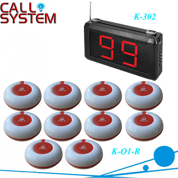 1Set 99 Zones LED Display Wireless Nurse Call Emergency Service Call System K-302,size 220*120*40mm, by DHL/EMS(China (Mainland))