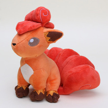 Buy Kawaii Anime Plush Doll Pikachu Vulpix Plush Stuffed Animal Doll Toys Approx 18cm Best Gift Kids peluche juguetes tag for $11.99 in AliExpress store