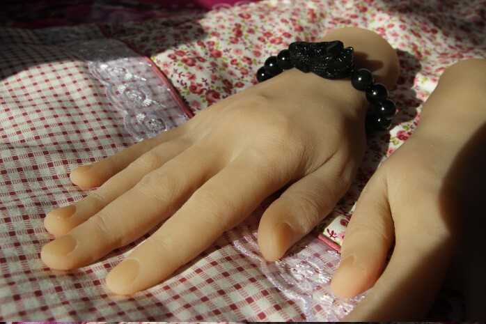 Solid Silicone male Hands,Sex Doll Real Skin,realistic mannequin hands,ring display