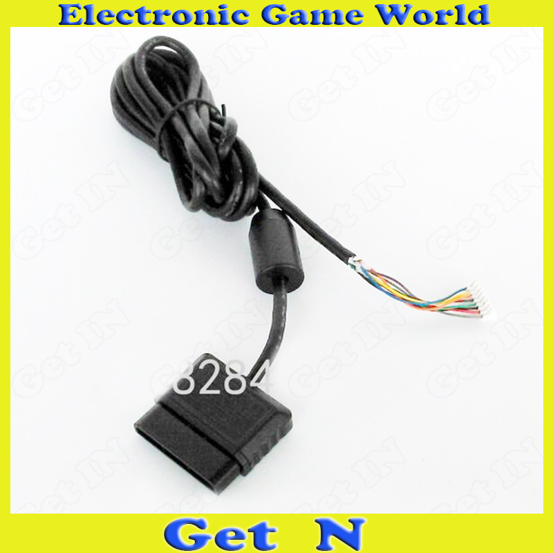 25pcs 8Pins Connection Cable Repairs Accessories for PS2 Wired Controllers(China (Mainland))