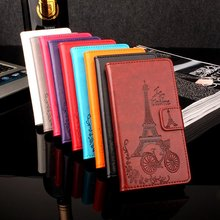 Buy Lenovo A859 Fashion Colorful Eiffel Tower Phone Cases PU Leather Flip Case Back Cover Book Case Lenovo 859 for $4.36 in AliExpress store