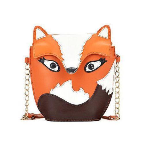 HOT New 2015 Summer Bags Cartoon Owl Fox Bag Women Handbag Small Women messenger Bags(China (Mainland))