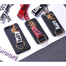 Buy Fashion Love Lanyard Colorful Hard Case iPhone 5 SE 6s 7s Luxury Samsung s6 Huawei Xiaomi Redmi Meizu Phone Cover Capa for $3.12 in AliExpress store
