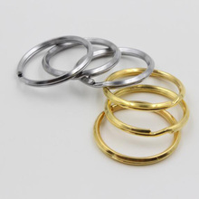 10 pcs High-quality gold plated silver car key ring key chain pendant accessories Free shipping(China (Mainland))