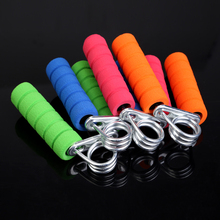 New Hand Wrist Arm Strength Exercise Fitness Grip Hand Grippers Color Randomly H1E1(China (Mainland))
