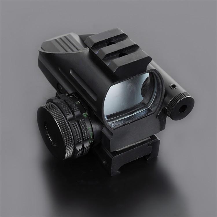 Free shipping Mini Red Dot LLL Night Vision Laser Sight Air Rifle Gun outdoor  Riflescope Hunting Telescope Sight Sight Gunsight