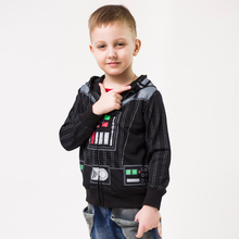 2016 Star Wars Coat Darth Vader Costume Outerwear Children Boys Avengers Super Hero Captain America Jacket Children Shipping