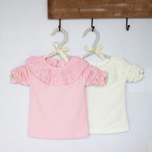 Retail 1 Piece 2014 Girls Long Sleeve T shirt Baby Girls Shirts Kids Tshirts Children