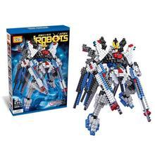 Children Building Blocks Toys Fighting Robot Gundam Blocks Learning and Education Toys Boys Gifts Kids Model Drop Shipping