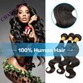 Charming 3 Bundles 8A Brazilian Virgin Hair Body Wave 8A Grade Virgin Unprocessed Human Hair Body