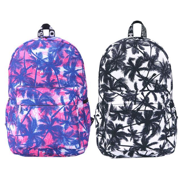 Женская холст рюкзак граффити емэн рюкзак для девочек-подростков плечо мешок школы рюкзак Bolsa Feminina Carteira