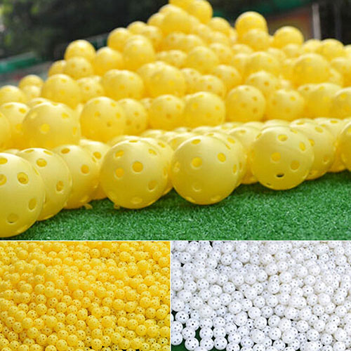 new6 Pcs Indoor Elastic Golf Hollow Ball Rubber Hole Golfs Beginner Practice 6Q43(China (Mainland))