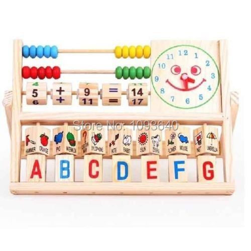 Educational Computing Rack Multifunction Flap Childrens Early Educational Toys Free Shipping
