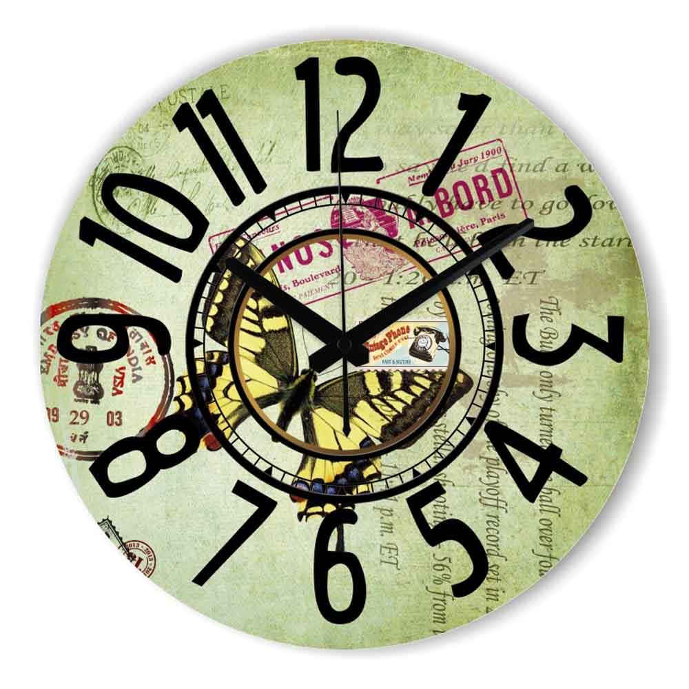 Grande horloge mouvements promotion achetez des grande for Horloge murale grande taille