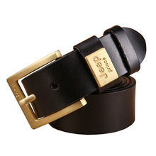 Buy 2017 Designer Belts Men High Genuine Leather Belt Luxury Man Cowboy Style Pin Buckle Classic Business Casual Jeans Cinto for $12.93 in AliExpress store