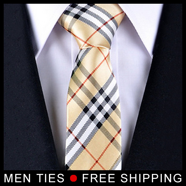 Spring New Style Men ties For Business Gifts Classic men s Neckties font b Chequers b