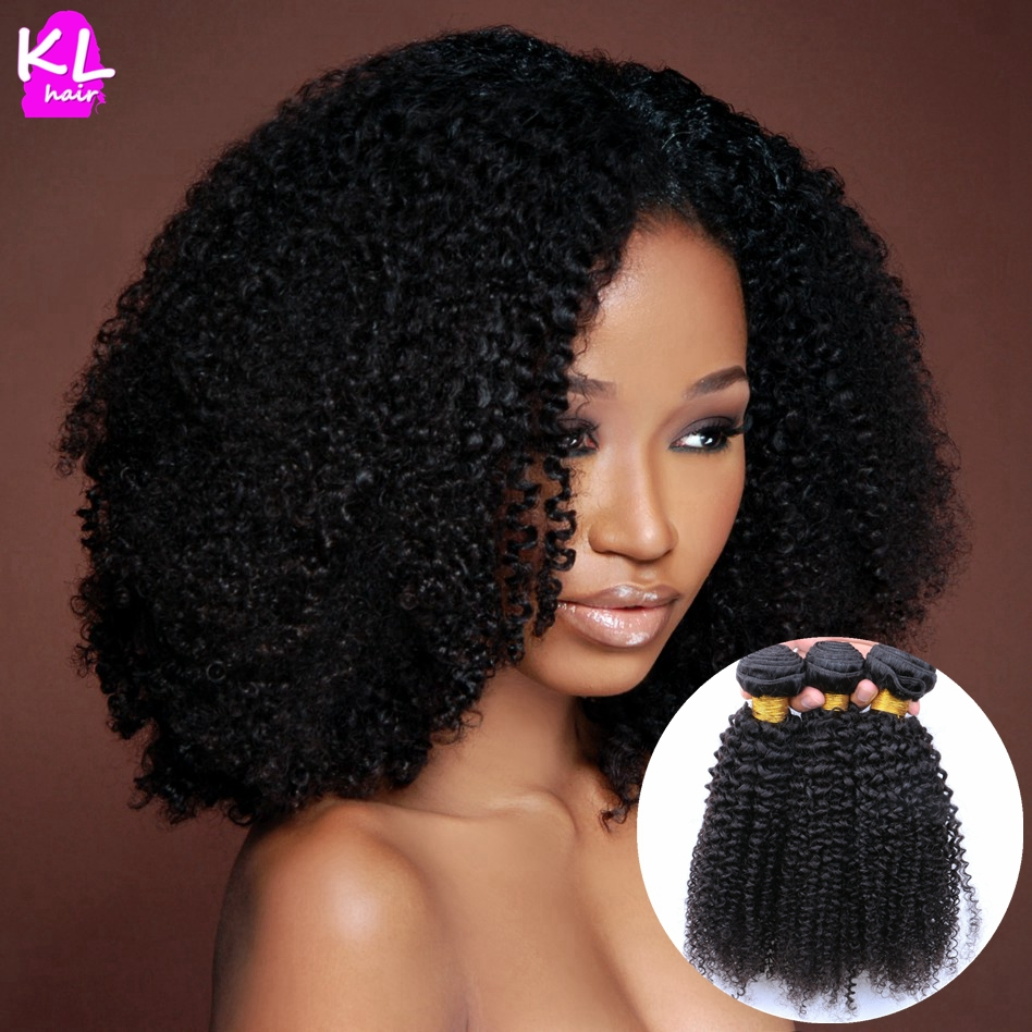Unprocessed 7a Grade Kinky Curly Human Virgin Brazilian Hair Bundles