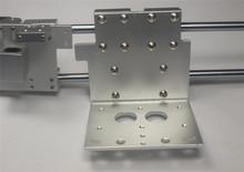 Reprap Prusa i3 3D printer aluminum alloy all metal dual extruder X carriage X end idler