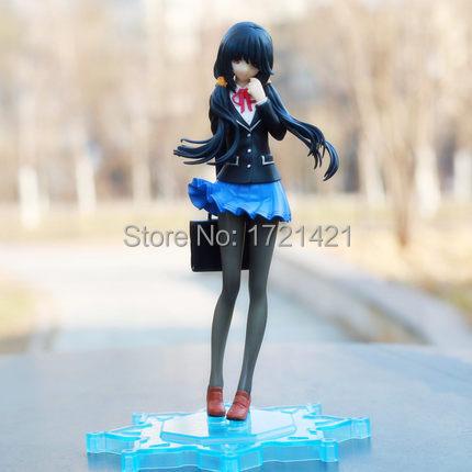 Free Shipping Anime figure Date A Live 23cm Nightmare tokisaki kurumi PVC Action Figure toy brinquedos<br><br>Aliexpress