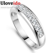 Uloveido Обручальное кольцо Кольца для Женщин Обручальное Кольцо Женщины 2017 Садовое Кольцо Анель Masculino Женственность Anillos Ювелирные Изделия J294(China (Mainland))