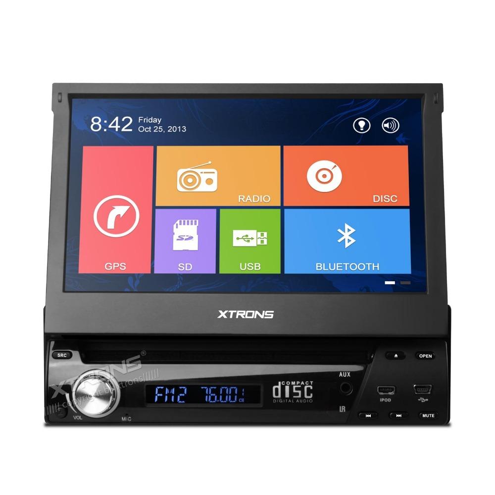 "XTRONS 7"" Single 1 DIN Car DVD Player autoradio GPS WIN8 UI Touch Stereo Radio automotive(China (Mainland))"