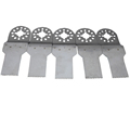 5 pcs Oscillating tools 20mm Stainless steel SS straight Saw Blades for Multimaster electric power tools