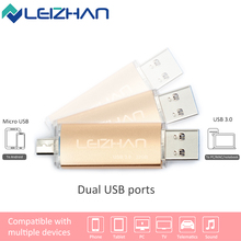 Buy LEIZHAN USB Flash Drive USB 3.0 Pendrive Smart Phone Memory Stick 4G 8G 16G 32G Pendrive Memory Flash Stick Wholesale U disk for $6.02 in AliExpress store