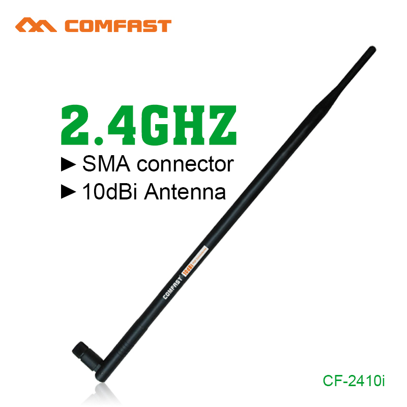2.4G 10dbi RP-SMA High Gain Comfast Wireless WIFI Antenna Booster Wifi Antennas Amplifier WLAN Router Connector For PCI Card USB(China (Mainland))