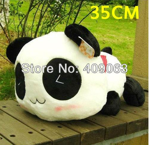 Panda Plush Toy Baby Stuffed Dolls Soft Children's Toys Pillow 35cm Free Shipping(China (Mainland))