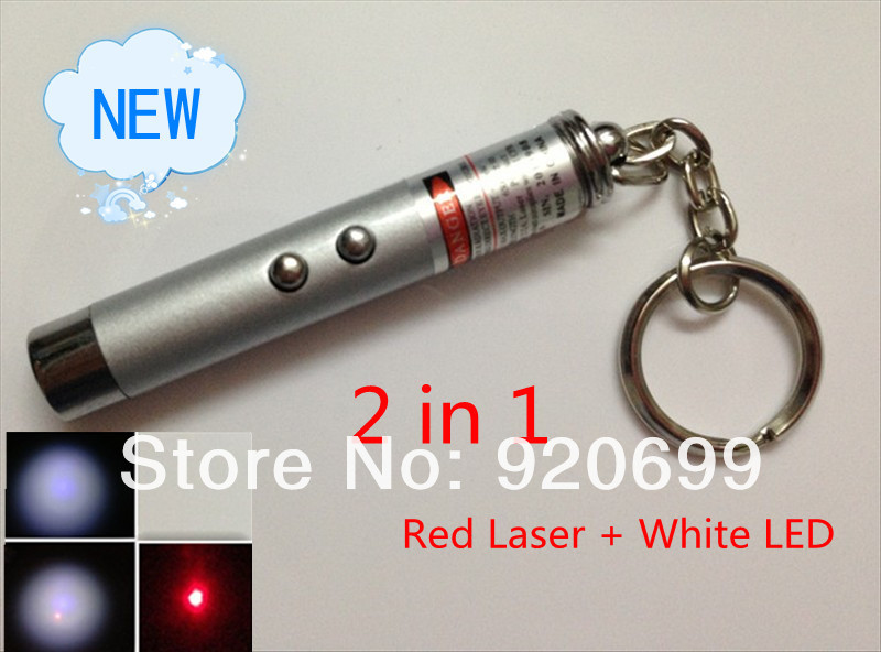 5s 2 1 5mw 650nm Red Laser Pointer Pen Keychain White LED Flashlight, - Shenzhen KaiMeiTe technology co., LTD store