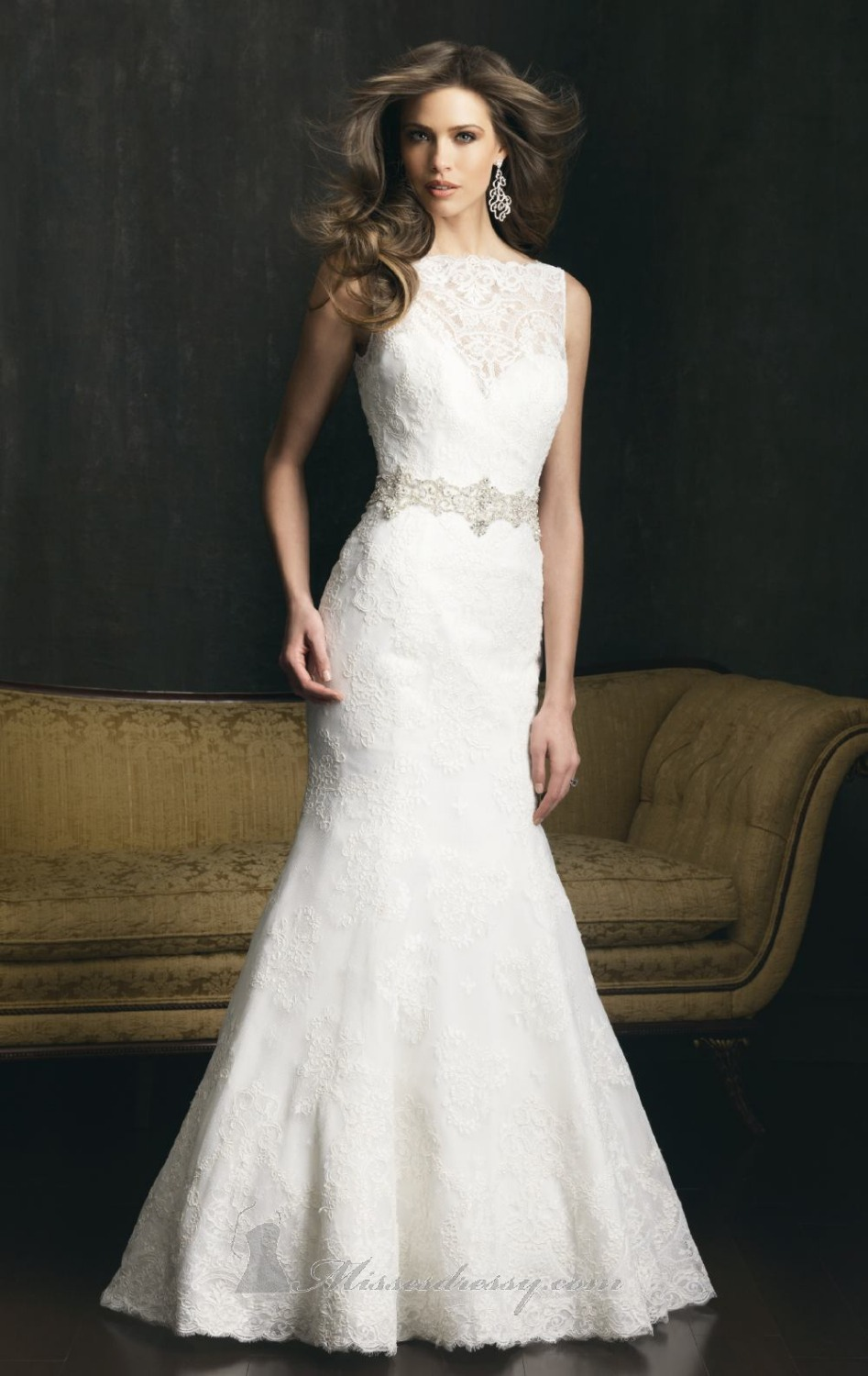 Hot new style white ivory bridal gown formal wedding gown for New wedding dress styles