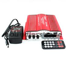 OPHIR 12V Power Amplifier Motorcycle Audio 480W 4CH HiFi Digital Stereo Car Amplifier + Power Free shipping_AR028R+AR016(China (Mainland))