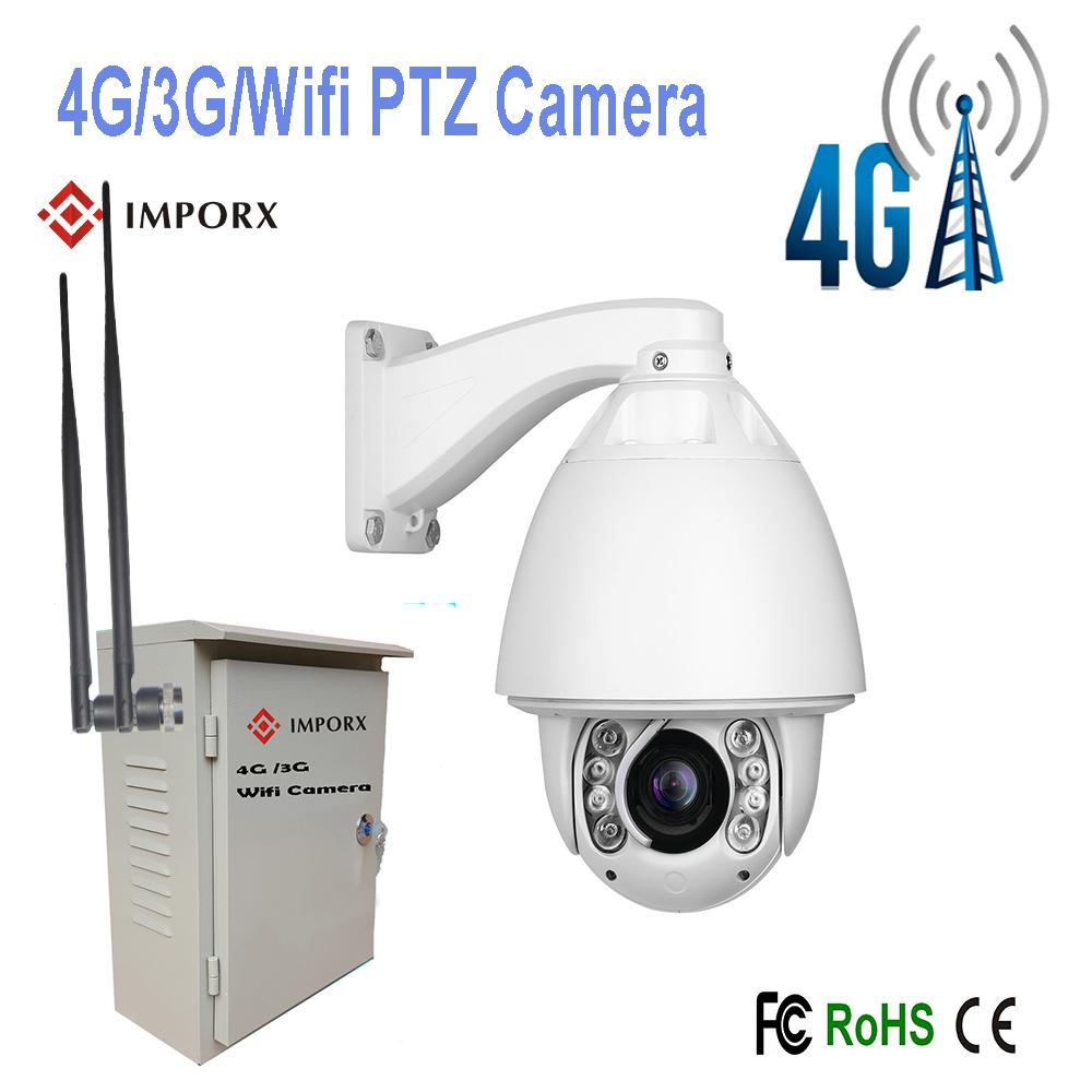 2016 Hot Sell High Speed Dome 4G/3G/WIFI CCTV PTZ IP Camera Security Camera(China (Mainland))