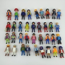 Children Toys Playmobi Puppets Assembly for Girls Boys 7.5cm figures Hot Sales(China (Mainland))