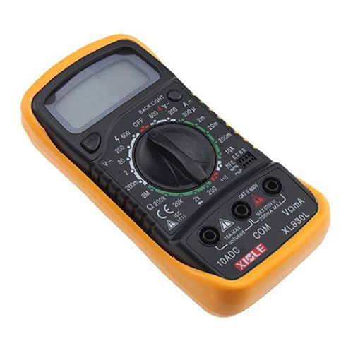 USA Stock! New Digital LCD Multimeter Voltmeter Ammeter AC DC OHM Volt Tester Test Current(China (Mainland))