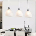 3 Head chandelier Light for Dining Room Fashion Pastoral lights Bar lamps AC85 265V Downlight