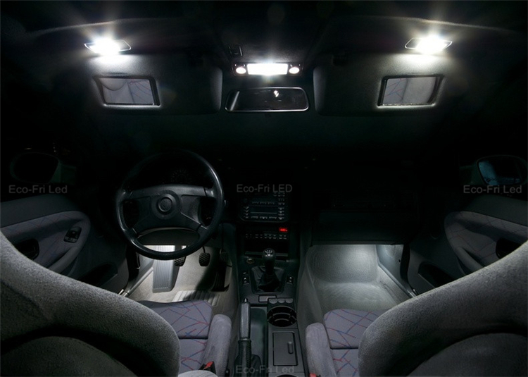 18x bright white canbus error free led bulbs interior lights package kits for bmw x5 m e70 2007