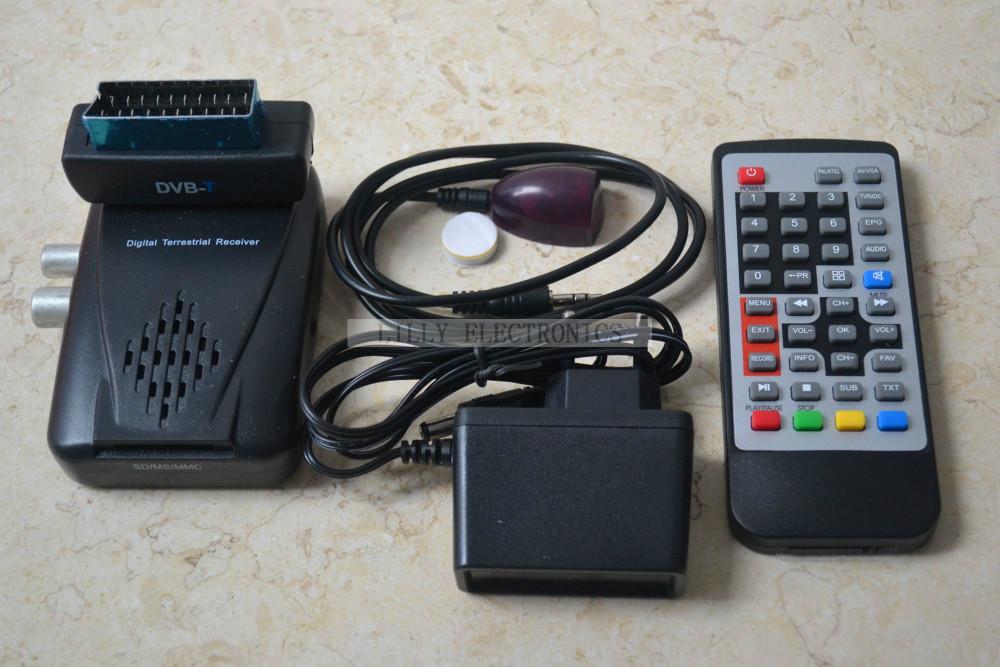 Digital Terrestrial Receiver Mini USB Scart TV PVR DVB-T HDTV Tuner EPG MPEG2 SD(China (Mainland))