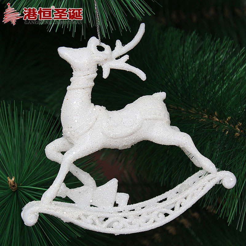 Christmas Tree Decoration ornaments christmas reindeer car for christmas party decoration Festive & Party Supplies(China (Mainland))