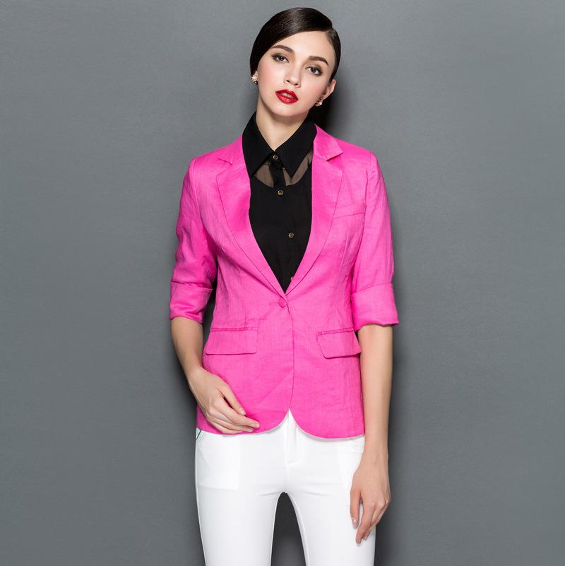 blazer feminino candy color women blazers fashion suit jackets brand cardigan ladies - New Ba lance suppliers store