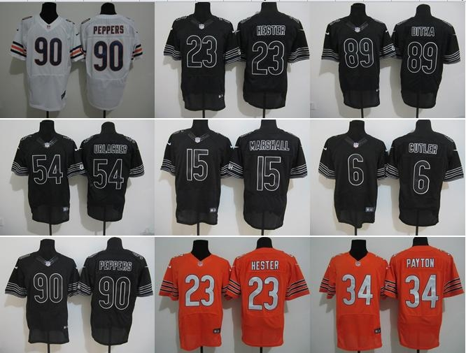 NO-1 2016 Best Quality,Chicago Bears Cutler Forte Fuller Grasu Ratliff ALL players(China (Mainland))