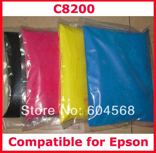 Фотография High quality compatible for Epson C8200/8200 color toner powder,4kg/lot,free shipping!