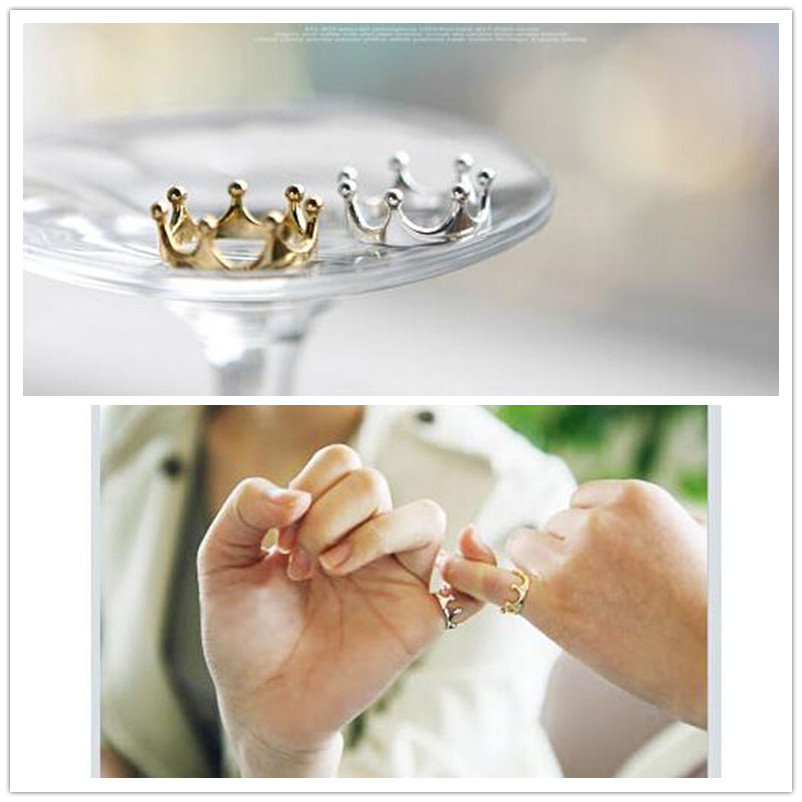 G025 One Direction Hot Selling Bijoux 2016 New Fashion Crown Finger Ring For Women Jewelry Wedding Accessories Cheap Wholesale(China (Mainland))