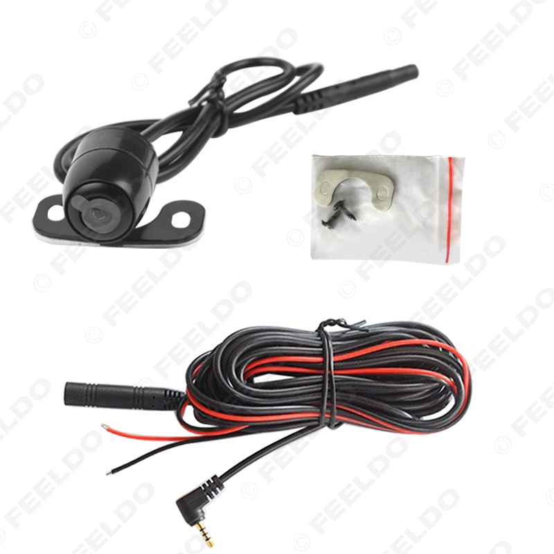 Waterproof 2.5/3.5mm Jack Port Universal Night Vision Car Rear View Camera 170 Degree CCD For DVR Video Recorder #FD-1304<br><br>Aliexpress
