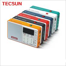 TECSUN Q3 Portátil Tecsun FM Radio Digital Reproductor de MP3 Grabadora de Apoyo Emisión de Radio Grabadora Para Sesión de Aprendizaje Nave de La Gota
