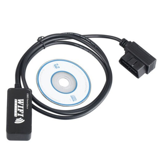 Free Shipping ELM327 OBD-2 Wi-Fi Car Diagnostic Scanner Tool for Apple Device iPad iPhone #gib(China (Mainland))